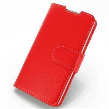 HTC Desire 516 Dual Sim PDair Leather Case NP3RHT16B41 Punainen
