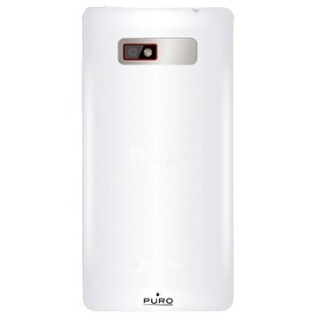 HTC Desire 600 Dual Sim Puro Silikonikuori Valkoinen
