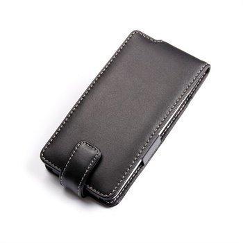 HTC Desire 600 Dual sim PDair Leather Case 3BHTD6F41 Musta