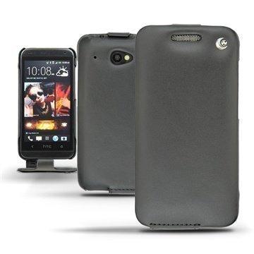 HTC Desire 601 Noreve Tradition Flip Nahkakotelo Musta