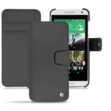 HTC Desire 610 Noreve Tradition B Lompakkomallinen Nahkakotelo Musta