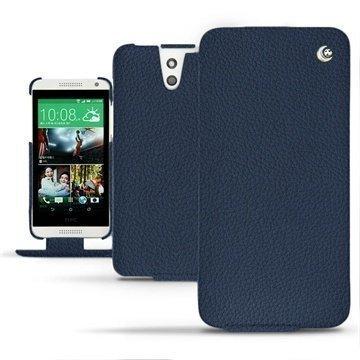 HTC Desire 610 Noreve Tradition Läpällinen Nahkakotelo Indigo