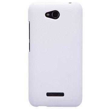 HTC Desire 616 Dual Sim Nillkin Super Frosted Shield Suojakotelo Valkoinen