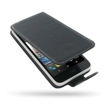 HTC Desire 616 Dual Sim PDair Leather Case NP3BHT66F41 Musta