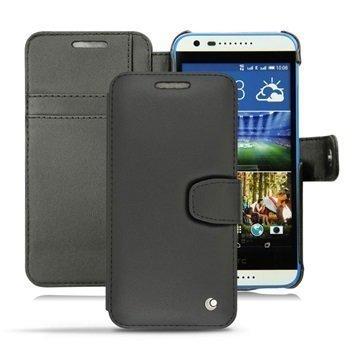 HTC Desire 620 Dual Sim Noreve Tradition B Lompakkomallinen Nahkakotelo Perpétuelle Musta