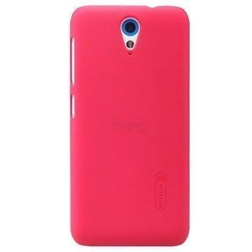 HTC Desire 620 dual sim Nillkin Super Frosted Shield Suojakuori Punainen