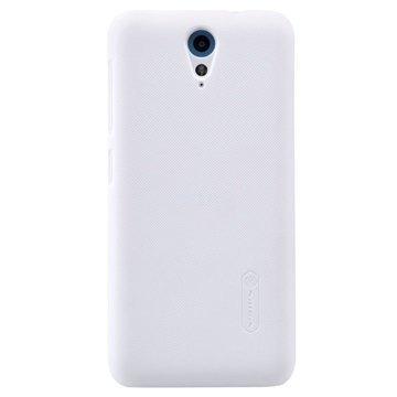 HTC Desire 620 dual sim Nillkin Super Frosted Shield Suojakuori Valkoinen