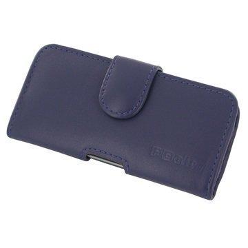 HTC Desire 650 PDair Vaakasuuntainen Nahkakotelo Violetti