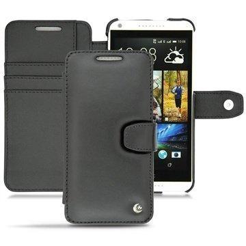 HTC Desire 816 Noreve Tradition B Lompakkomallinen Nahkakotelo Musta