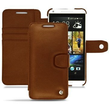 HTC Desire 816 Noreve Tradition B Wallet Leather Case Brown
