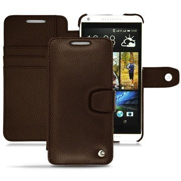HTC Desire 816 Noreve Tradition B Wallet Leather Case Chataigne