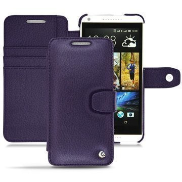HTC Desire 816 Noreve Tradition B Wallet Leather Case Cobalt