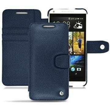 HTC Desire 816 Noreve Tradition B Wallet Leather Case Indigo