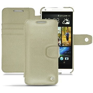 HTC Desire 816 Noreve Tradition B Wallet Leather Case Ivoire