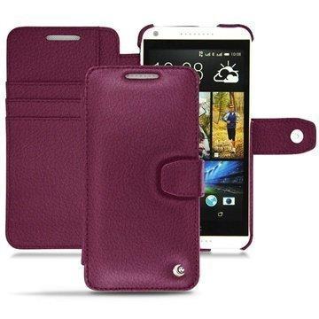 HTC Desire 816 Noreve Tradition B Wallet Leather Case Lie de vin