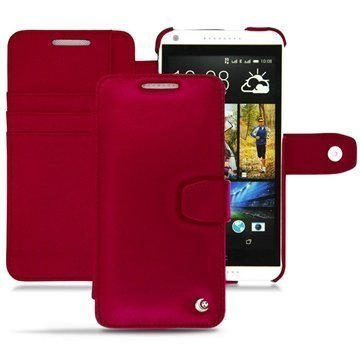 HTC Desire 816 Noreve Tradition B Wallet Leather Case Red