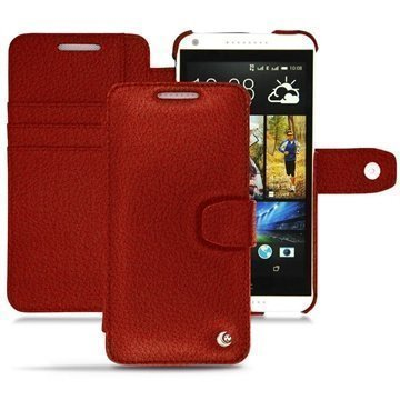 HTC Desire 816 Noreve Tradition B Wallet Leather Case Tomate