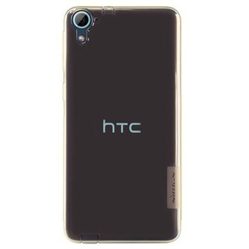 HTC Desire 826 Nillkin Nature TPU Suojakuori Ruskea