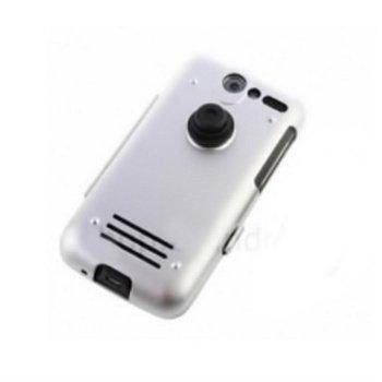HTC Desire Alu Case Silver