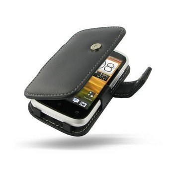 HTC Desire C PDair Leather Case 3BHTDCB41 Musta