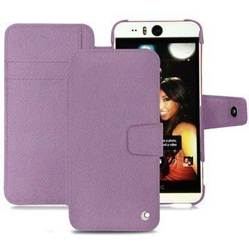 HTC Desire Eye Noreve Tradition B Wallet Nahkakotelo Perpétuelle Violetti