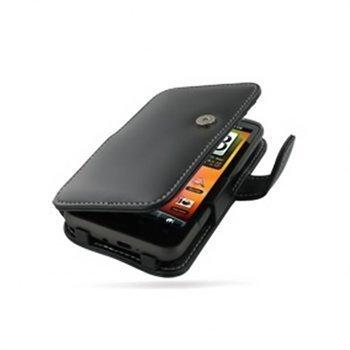 HTC Desire HD PDair Leather Case 3BHTEHB41 Musta