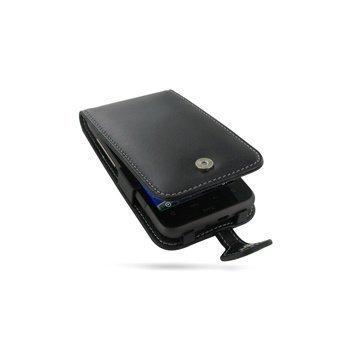 HTC Desire HD PDair Leather Case 3BHTEHF41 Musta