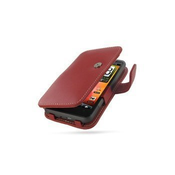 HTC Desire HD PDair Leather Case 3RHTEHB41 Punainen