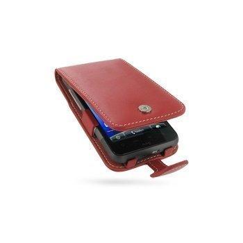 HTC Desire HD PDair Leather Case 3RHTEHF41 Punainen