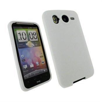 HTC Desire HD iGadgitz Silikonikotelo Valkoinen