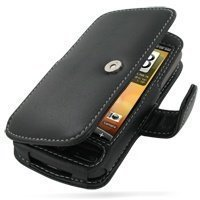 HTC Desire PDair Leather Case 3BHTDEB41 Musta
