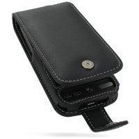 HTC Desire PDair Leather Case 3BHTDEF41 Musta