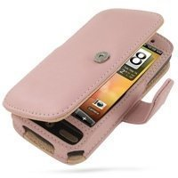 HTC Desire PDair Leather Case 3JHTDEB41 Vaaleanpunainen