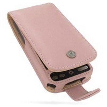HTC Desire PDair Leather Case 3JHTDEF41 Vaaleanpunainen