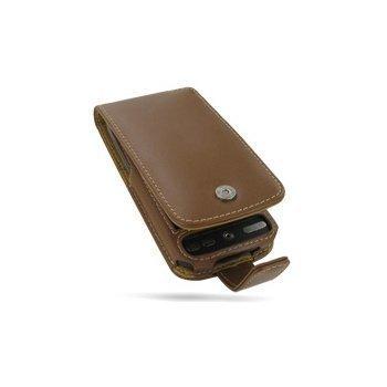 HTC Desire PDair Leather Case 3THTDEF41 Ruskea