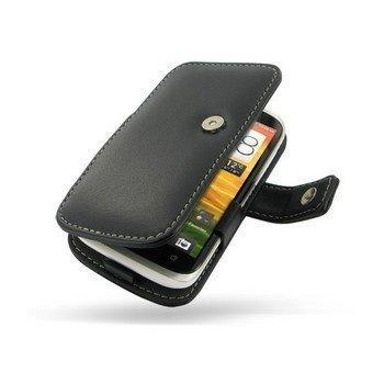 HTC Desire V PDair Leather Case 3BHTDVB41 Musta