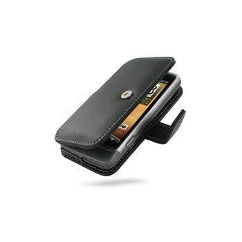 HTC Desire Z PDair Leather Case 3BHTEZB41 Musta