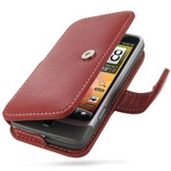 HTC Desire Z PDair Leather Case 3RHTEZB41 Punainen