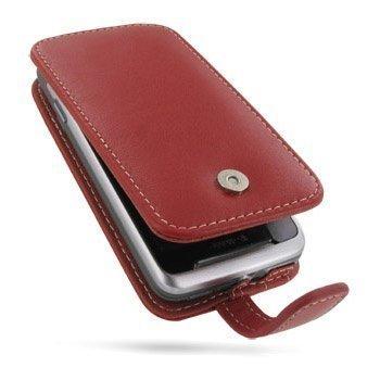 HTC Desire Z PDair Leather Case 3RHTEZF41 Punainen