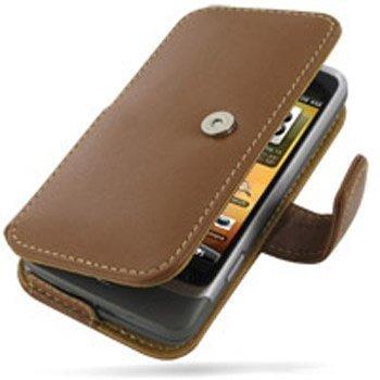 HTC Desire Z PDair Leather Case 3THTEZB41 Ruskea
