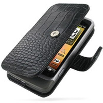 HTC Desire Z PDair Leather Case GBHTEZB41 Musta