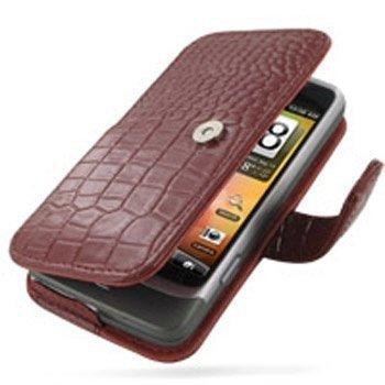 HTC Desire Z PDair Leather Case GRHTEZB41 Punainen