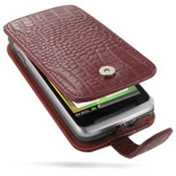 HTC Desire Z PDair Leather Case GRHTEZF41 Punainen