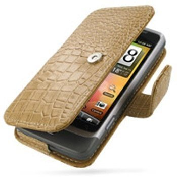 HTC Desire Z PDair Leather Case GTHTEZB41 Ruskea