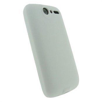 HTC Desire iGadgitz Silikonikotelo Valkoinen