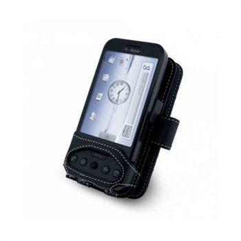 HTC Dream Nahkakotelo Musta