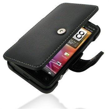 HTC EVO 3D PDair Leather Case 3BHTP3B41 Musta