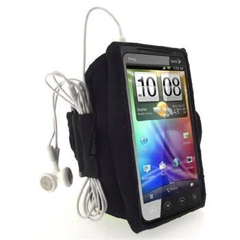 HTC Evo 3D iGadgitz Waterproof Armband Black