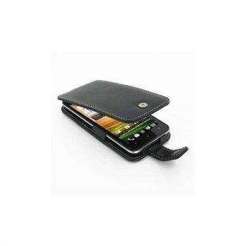 HTC Evo 4G LTE PDair Leather Case 3BHTTEF41 Musta
