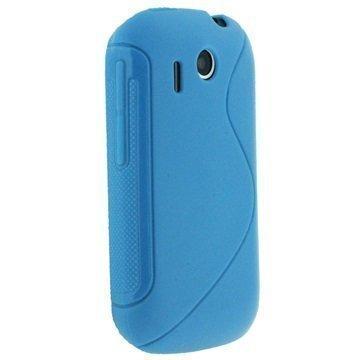 HTC Explorer iGadgitz Dual Tone TPU Cover Blue